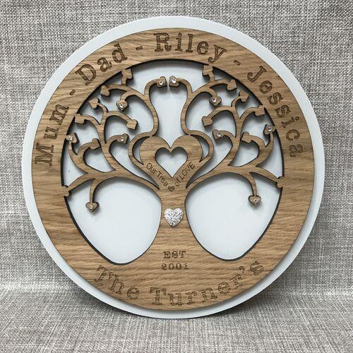 """"""" Tree Of Love """" Monogram"""