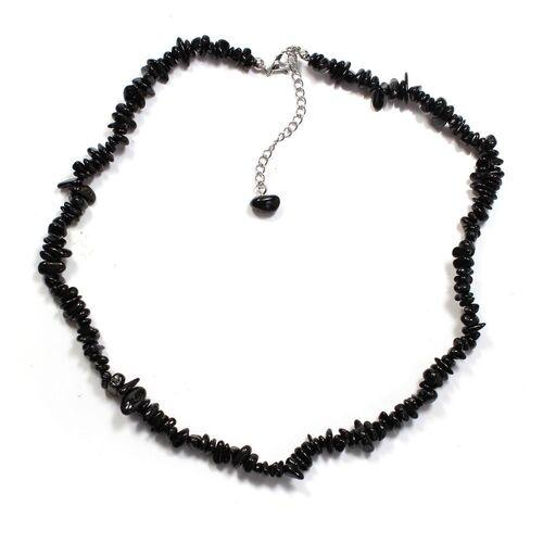 Black Tourmaline Chip Necklace