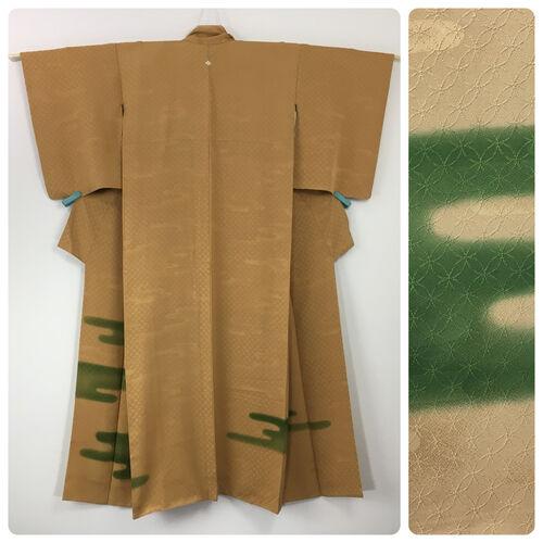 M, mustard colour kimono for women