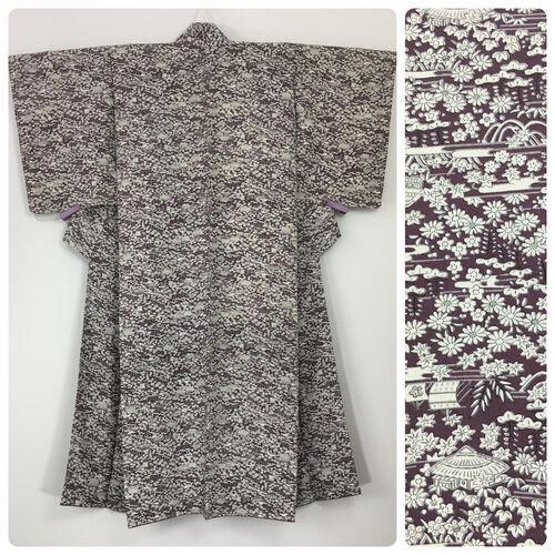 S-M, short kimono for women