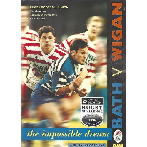 Rugby Challenge Rugby Union/Rugby League Programmes