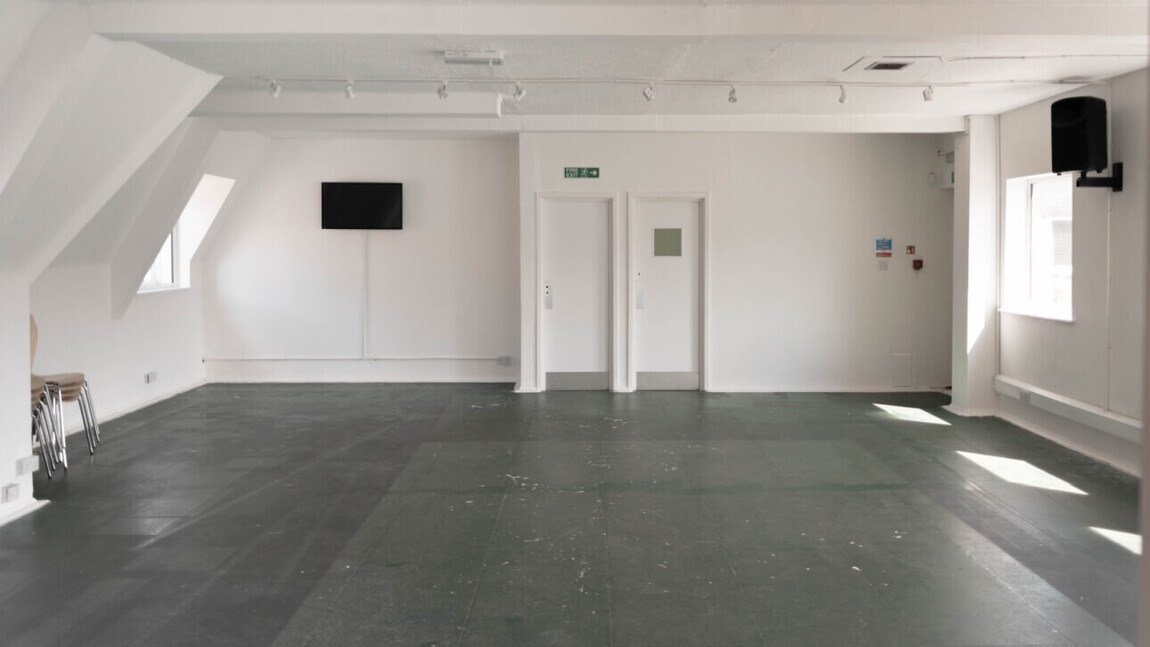 dance and performance and theatre rehearsal room hire