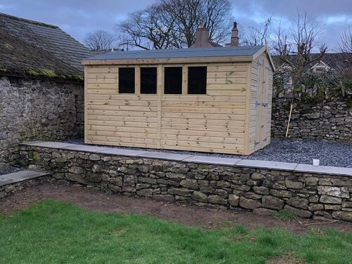 #025 14x10 Apex Shed