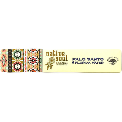 Native Soul Palo Santo & Florida Water Incense Sticks