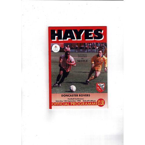 Hayes Football Programmes