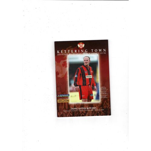 Kettering Town Home Football Programmes