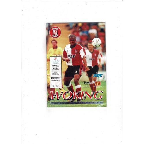 Woking Home Football Programmes