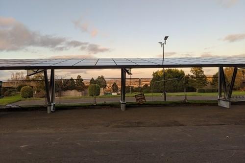 Solar Carport - Aviva Perth