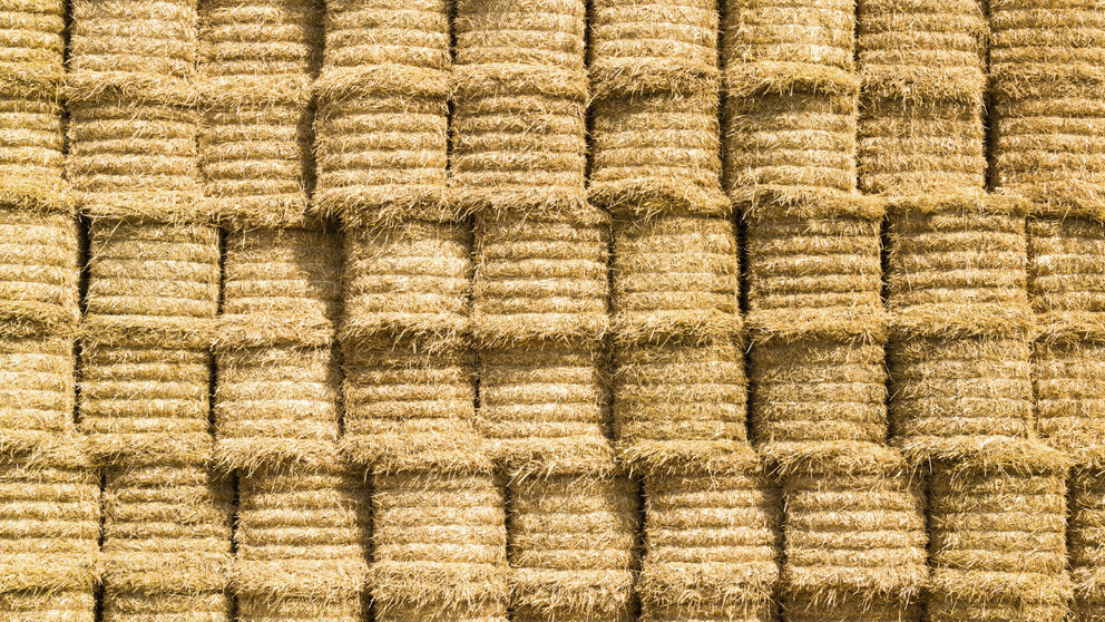 Hay and Straw Stacks