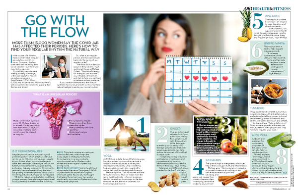 Go With The Flow for OK Magazine July 2021 edition