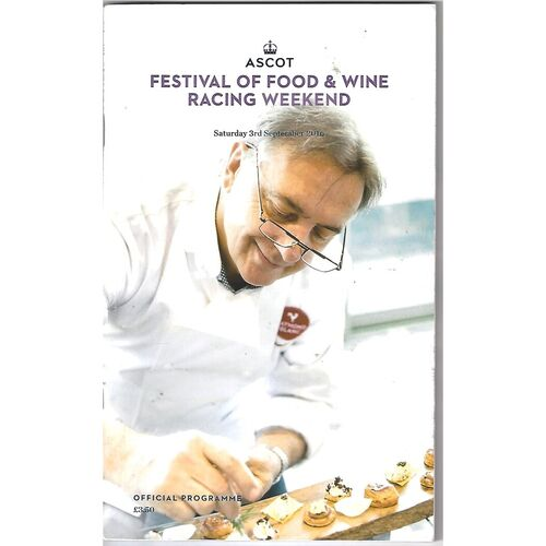 Ascot Horse Racing Racecards/Programmes