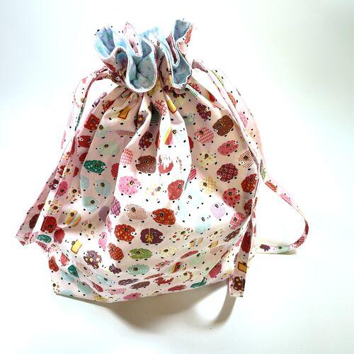 Pink Sheep Project Bag
