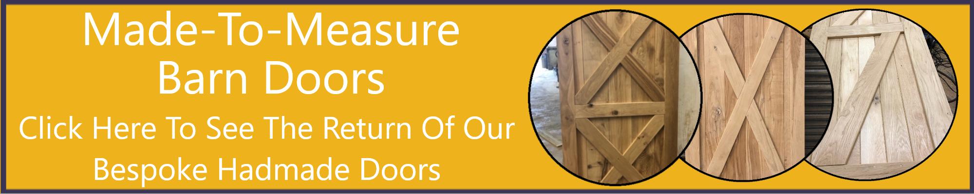 Internal Doors, Handmade Doors, External Doors, Barn Doors