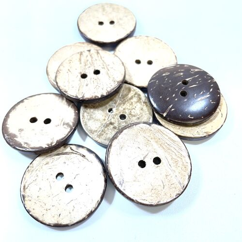 Natural Coconut Buttons (Two sizes)