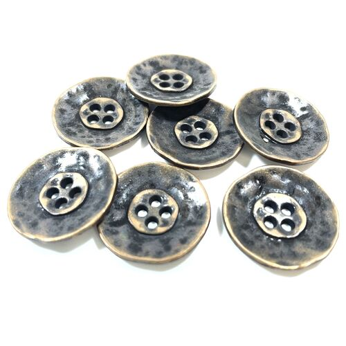 Metal Round Buttons 24mm