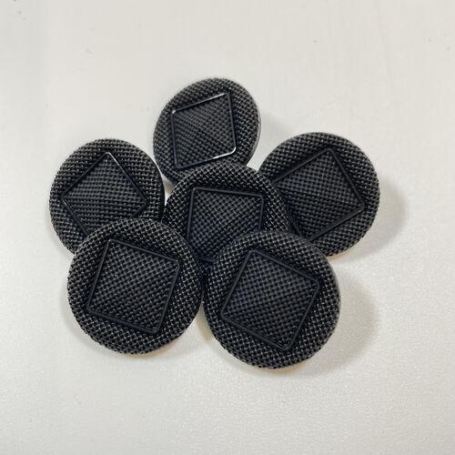 Black Shank Buttons