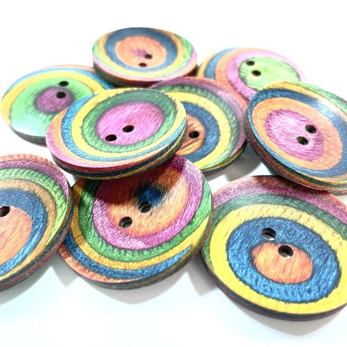 Knit Pro Curved Round Button 30mm