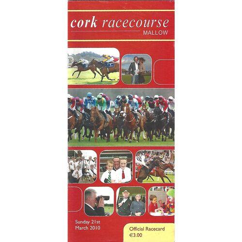 Cork Horse Racing Racecards/Programmes