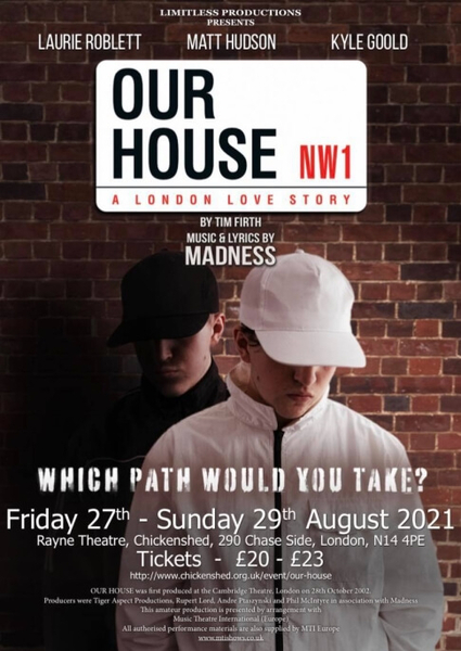 Tickets now on sale for our production of Our House | The Madness Musical