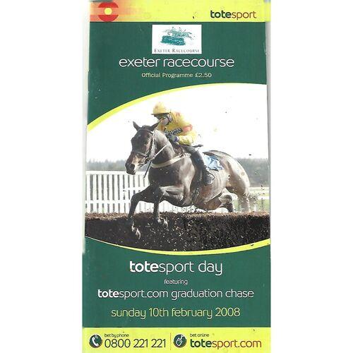 Exeter Horse Racing Racecards/Programmes