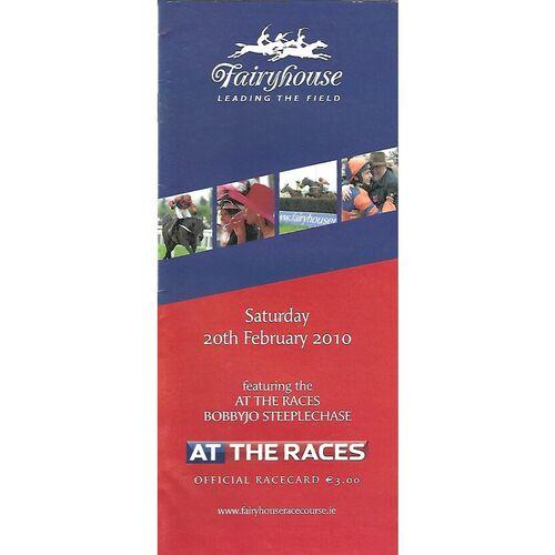 Fairyhouse Horse Racing Racecards/Programmes