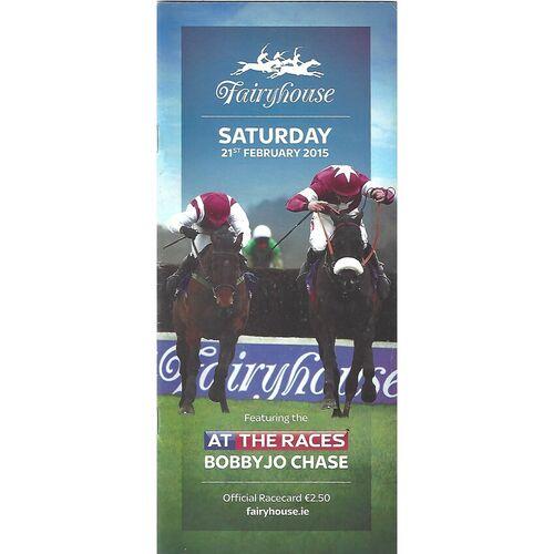 2015 Fairyhouse At The Races Meeting (21/02/2015) Horse Racing Racecard
