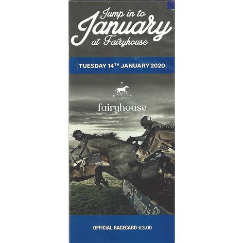 2020 Fairyhouse Race Meeting (14/01/2020) Horse Racing Racecard