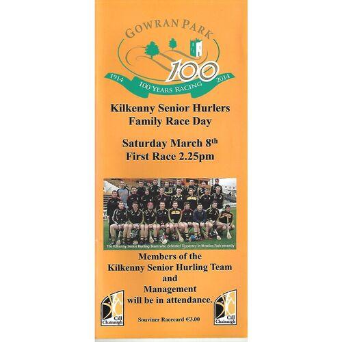 Gowran Park Horse Racing Racecards/Programmes