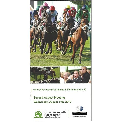 Great Yarmouth Horse Racing Racecards/Programmes