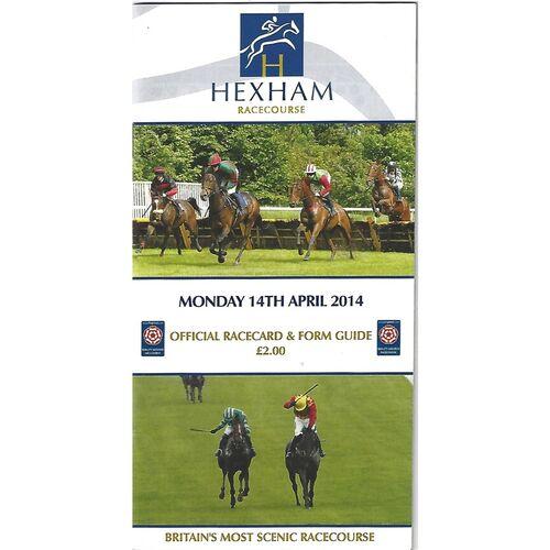 Hexham Horse Racing Racecards/Programmes