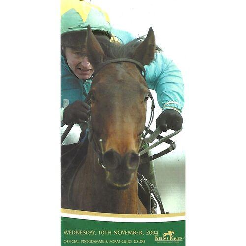 Kelso Horse Racing Racecards/Programmes
