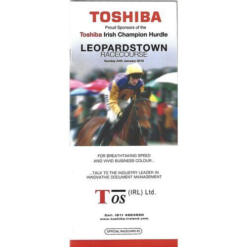 Leopardstown Horse Racing Racecards/Programmes