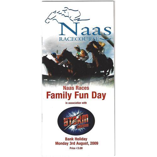 2009 Naas Family Fun Day Race Meeting (03/08/2009) Horse Racing Racecard