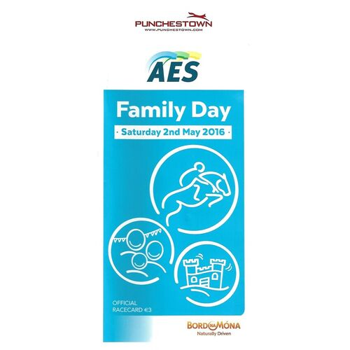 2016 Punchestown AES Family Day Race Meeting (02/05/2016) Horse Racing Racecard