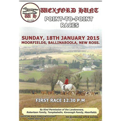Moorfields Horse Racing Racecards/Programmes