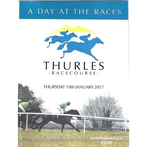 2017 Thurles Race Meeting (19/01/2017) Horse Racing Racecard
