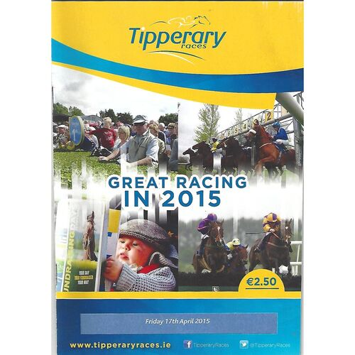 Tipperary Horse Racing Racecards/Programmes