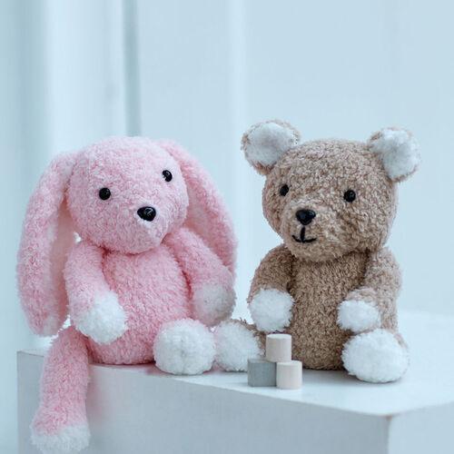 Bunny & Teddy Knitting Pattern 2521