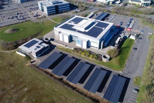 Solar Carport Foundation - Aviva Norwich