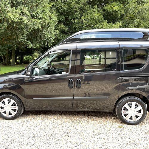 2012 Fiat Doblo Gleneagles Camper Van 1.4 Petrol 2 Berth PRO Conversion 72810 mls