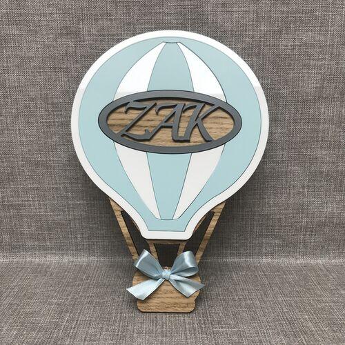 Hot Air Balloon door plaque