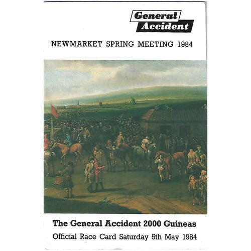 Newmarket Horse Racing Racecards/Programmes