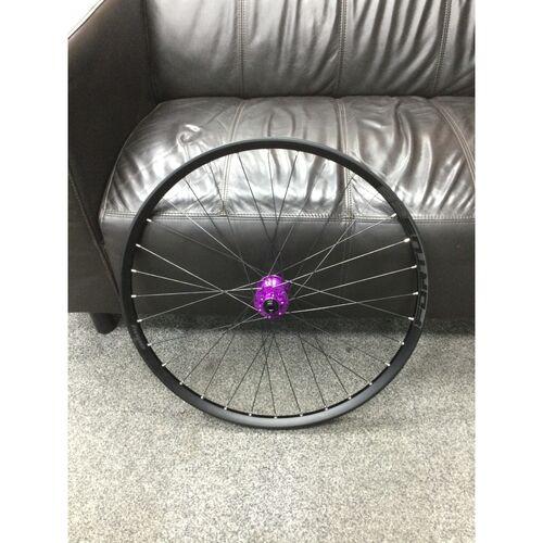 "Hope Fortus 26 Black Wheel 27.5"""