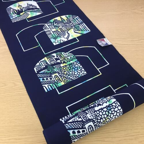 Cotton yukata fabric