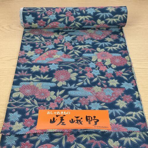 Wool kimono fabric