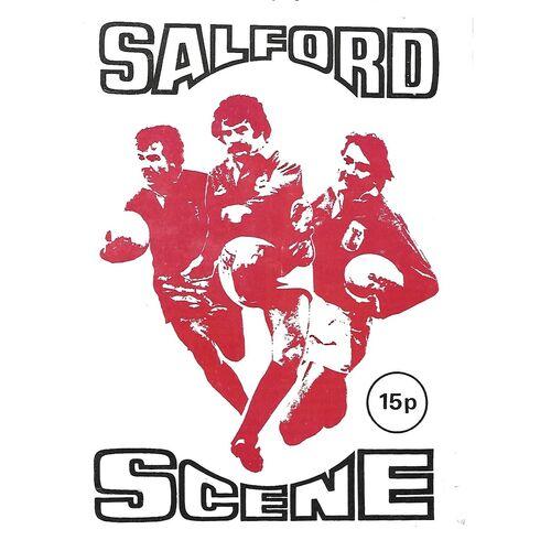 1978/79 Salford v Huddersfield Rugby League Programme