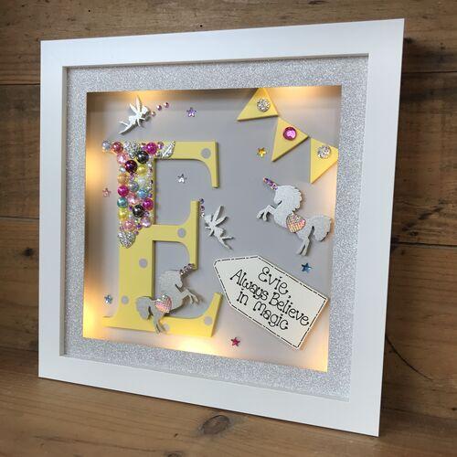 LED Initial Frame ( Unicorns )