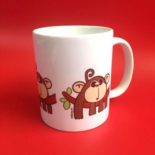 'New Monkey' Mug