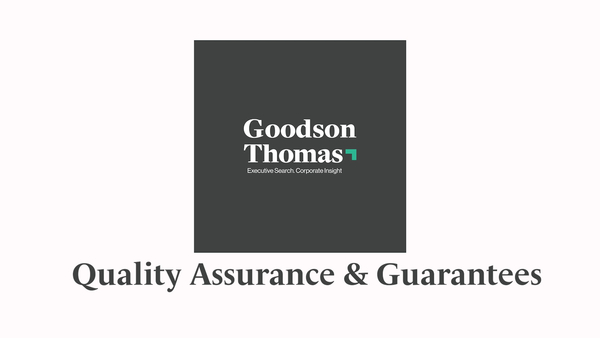 Goodson Thomas: Quality Assurance