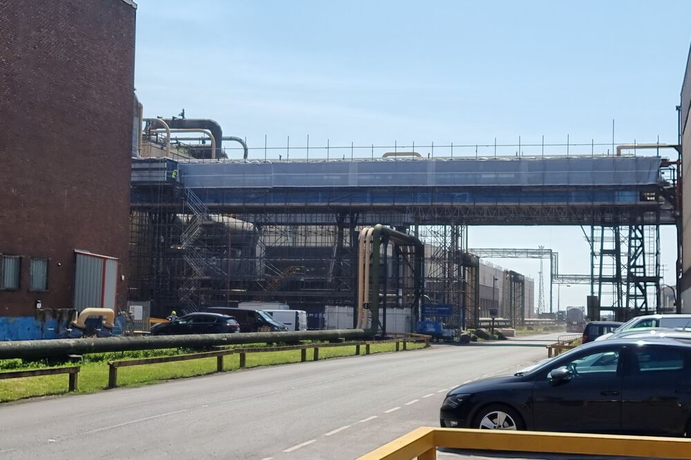 High Pressure Steam Mains – Asbestos Removal & Thermal Lagging Reinstatement